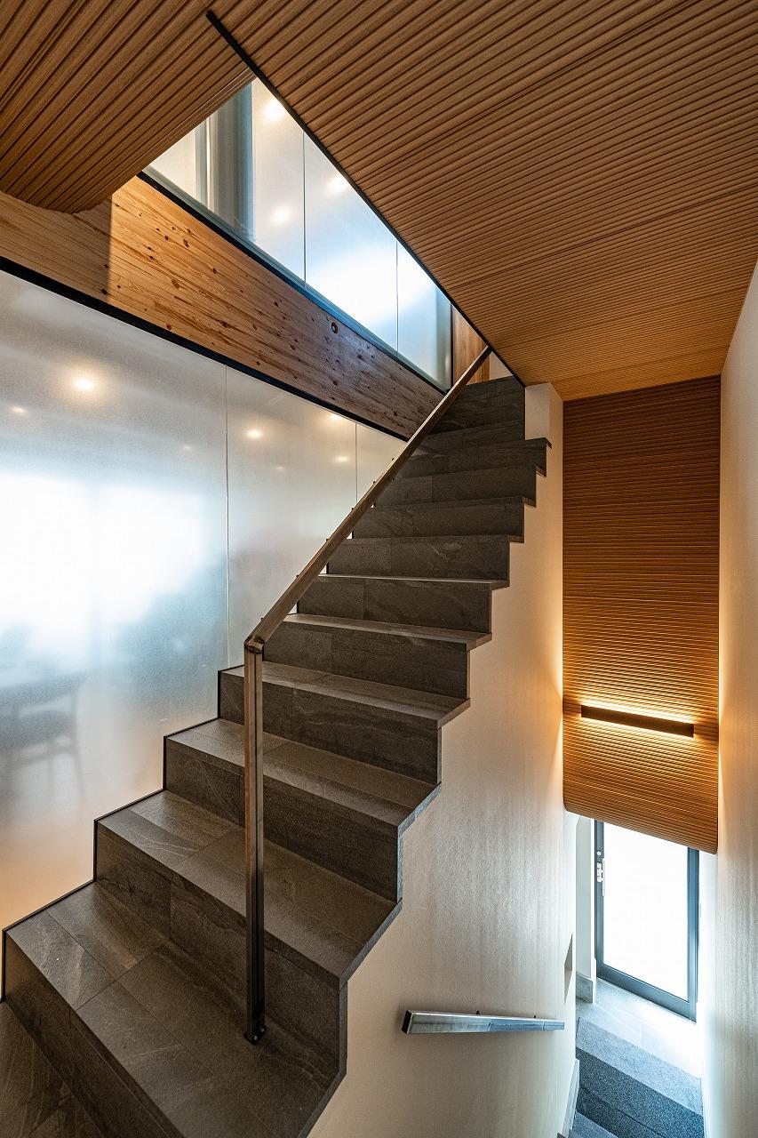 パッシブデザイン 階段